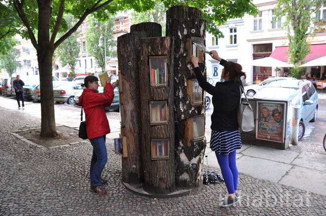 This is a really awesome idea, and a great way for books and reading to become more central in communities.