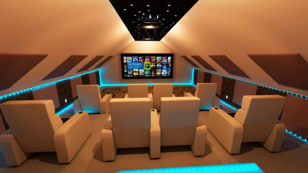 6.) In the future, we will all have epic home theaters like this one.