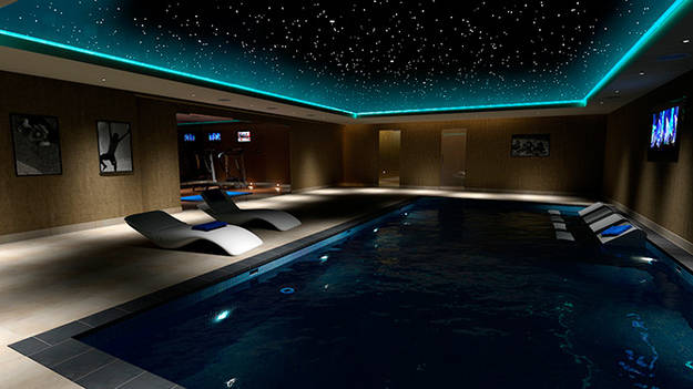 3.) A theater by the pool and under the stars sounds good to me.