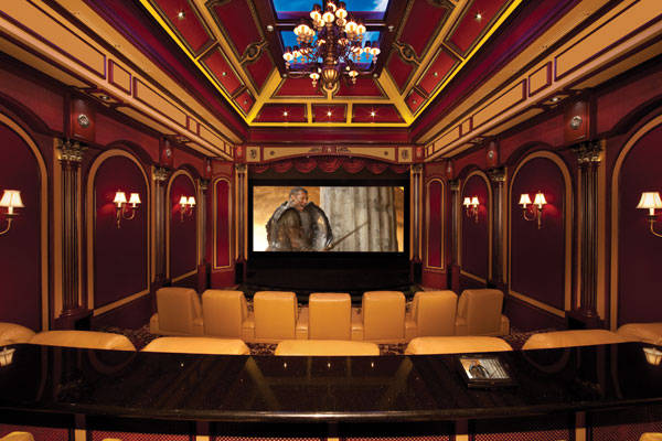 9.) This theater looks like it was styled for Victorian royalty. Mind your p's and q's in this theater.