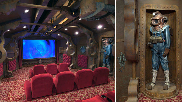 2.) Or get aquatic with a 20,000 Leagues Under The Sea theme.