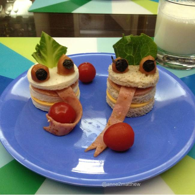 Even the terrifying meals look fun to eat.