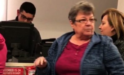 Woman was caught in a racist rant toward latina shoppers